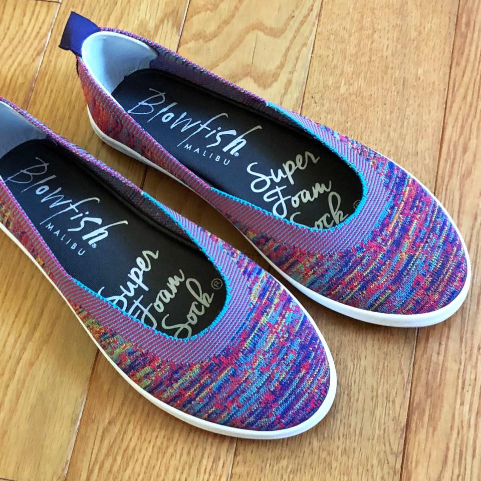 Multicolor Slip-ons