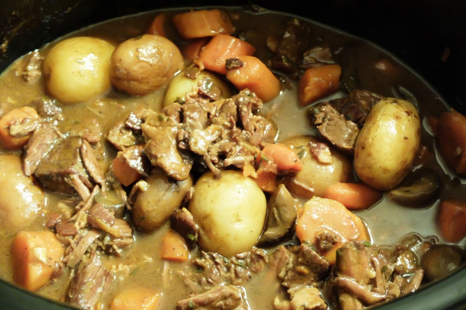 Slow Cooker Boeuf Bourguignon 5
