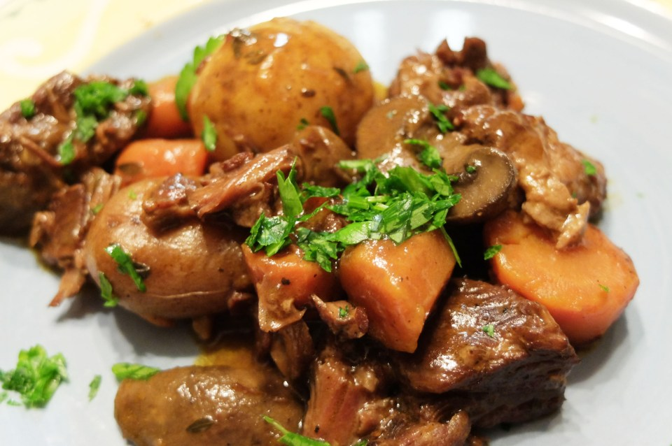Slow Cooker Boeuf Bourguignon 6