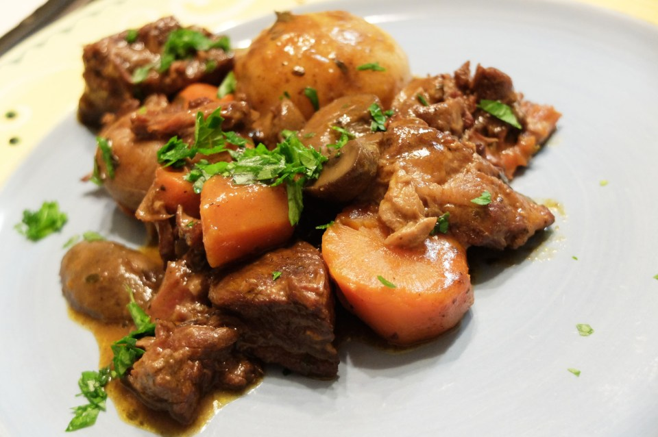 Slow Cooker Boeuf Bourguignon 7