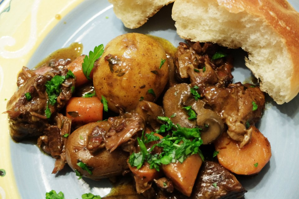 Slow Cooker Boeuf Bourguignon 8