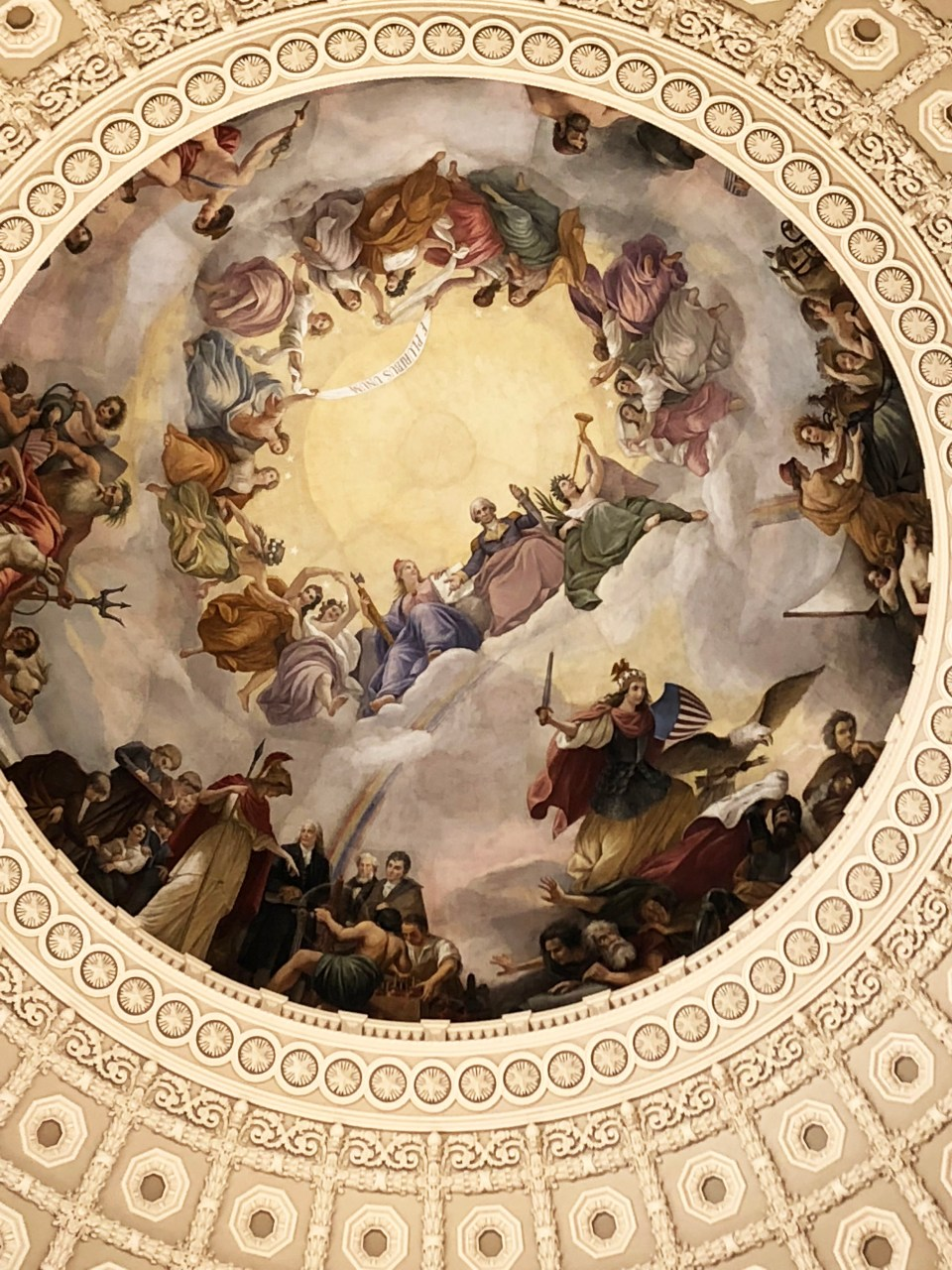 Capitol - Rotunda Painting