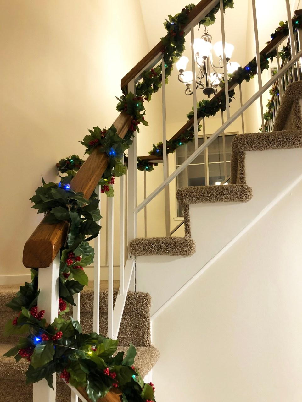 Christmas Garland + Lights