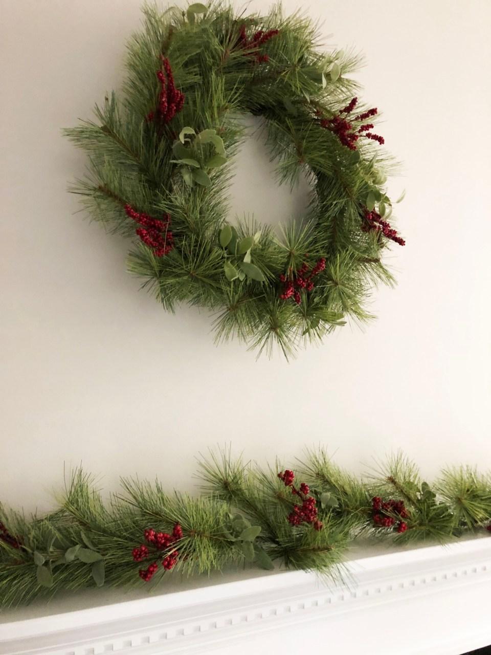 Christmas Mantel 1