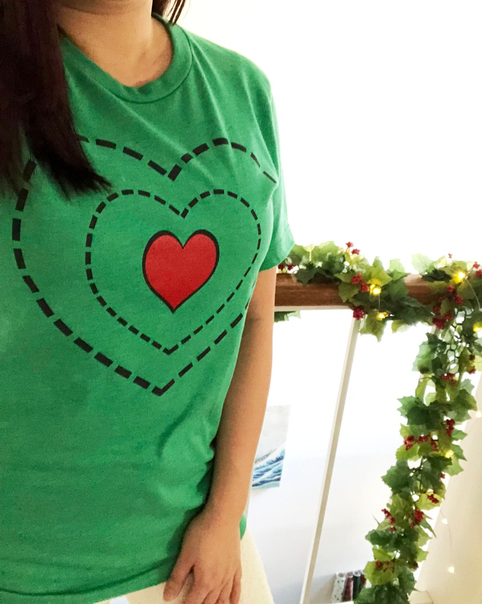 Grinch - Heart Two Sizes Too Small Tee