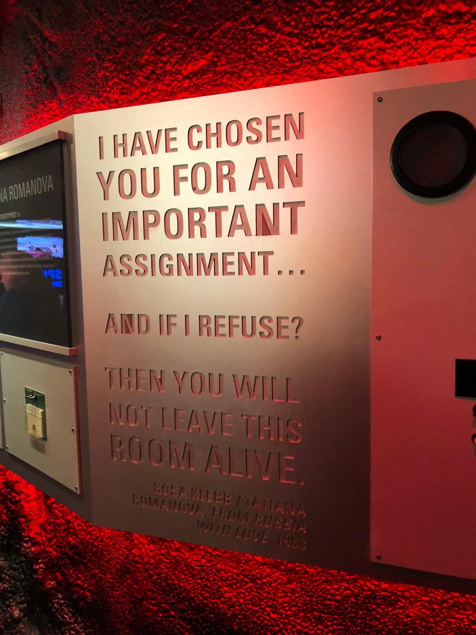 International Spy Museum - James Bond
