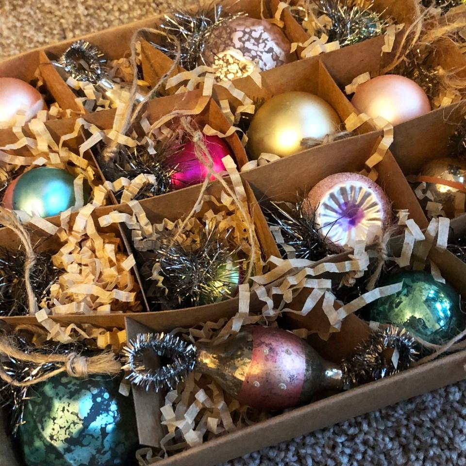 Mini Vintage Ornaments 2