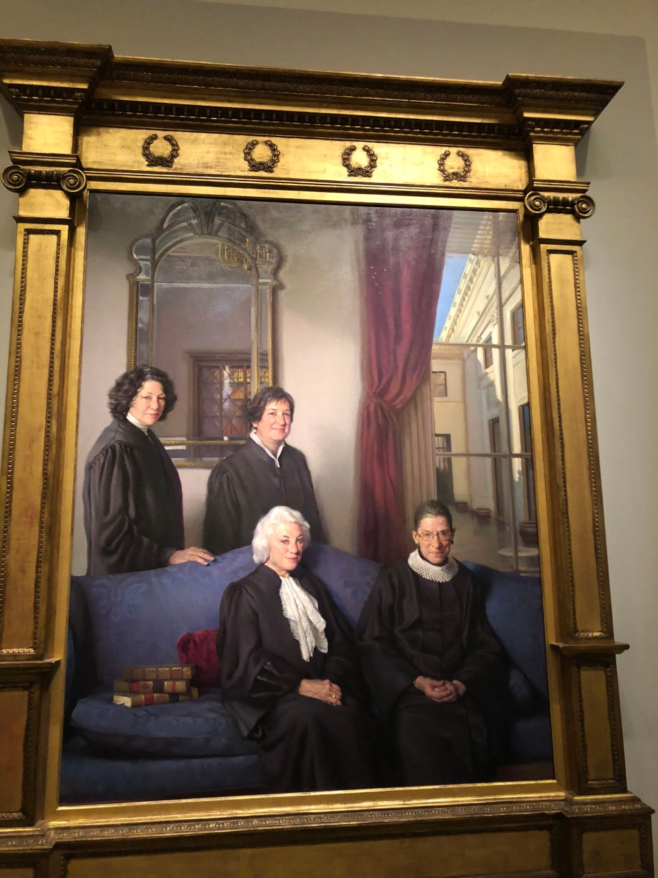 National Portrait Gallery - Female Justices