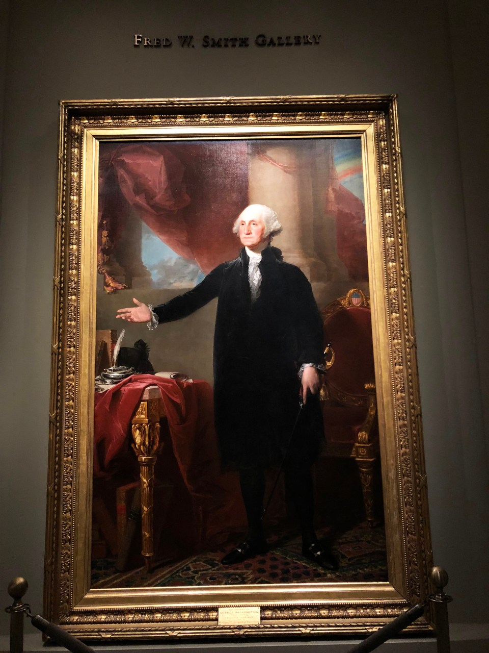 National Portrait Gallery - George Washington