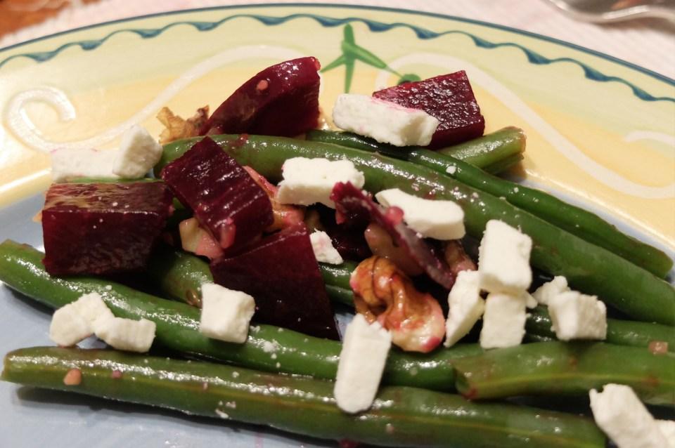 String Bean & Beet Salad 2