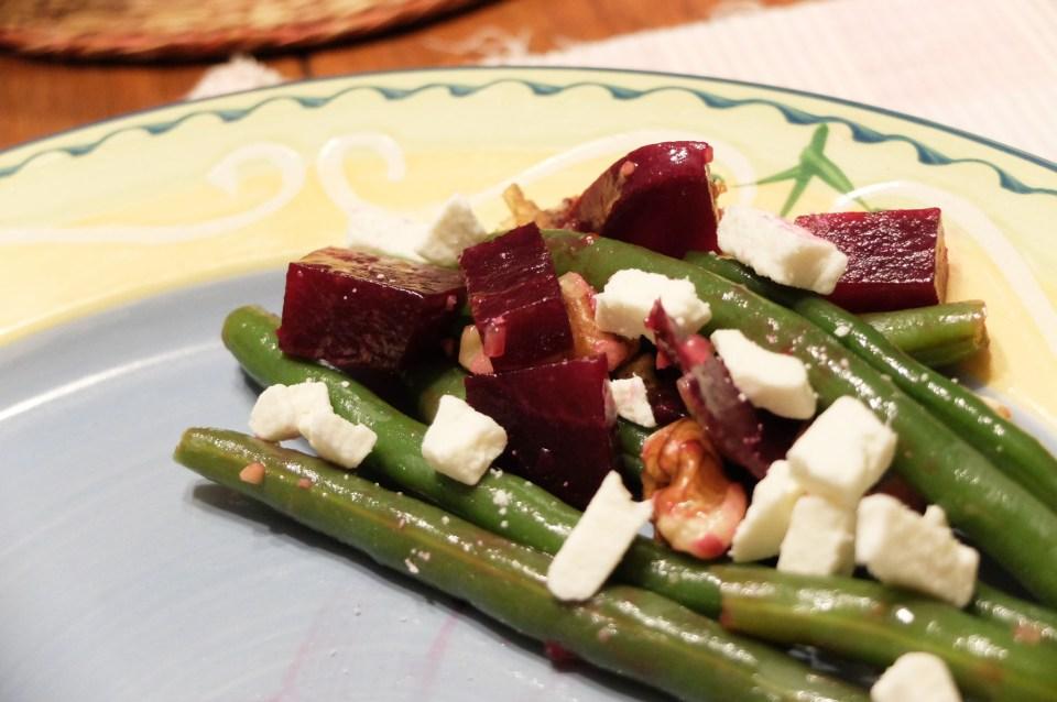 String Bean & Beet Salad 3