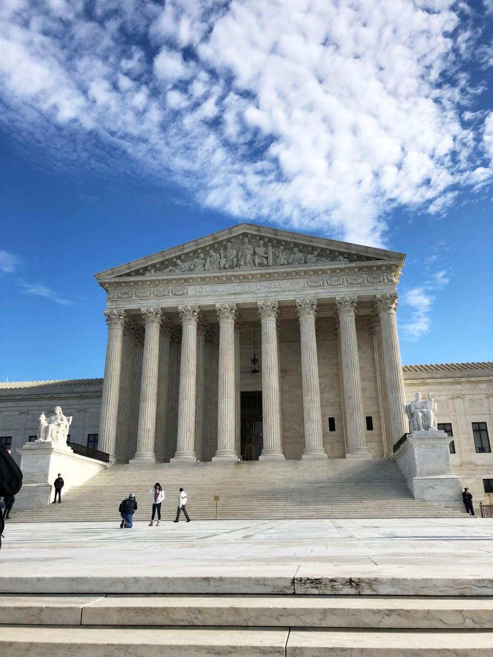 Washington DC - Supreme Court Building 1