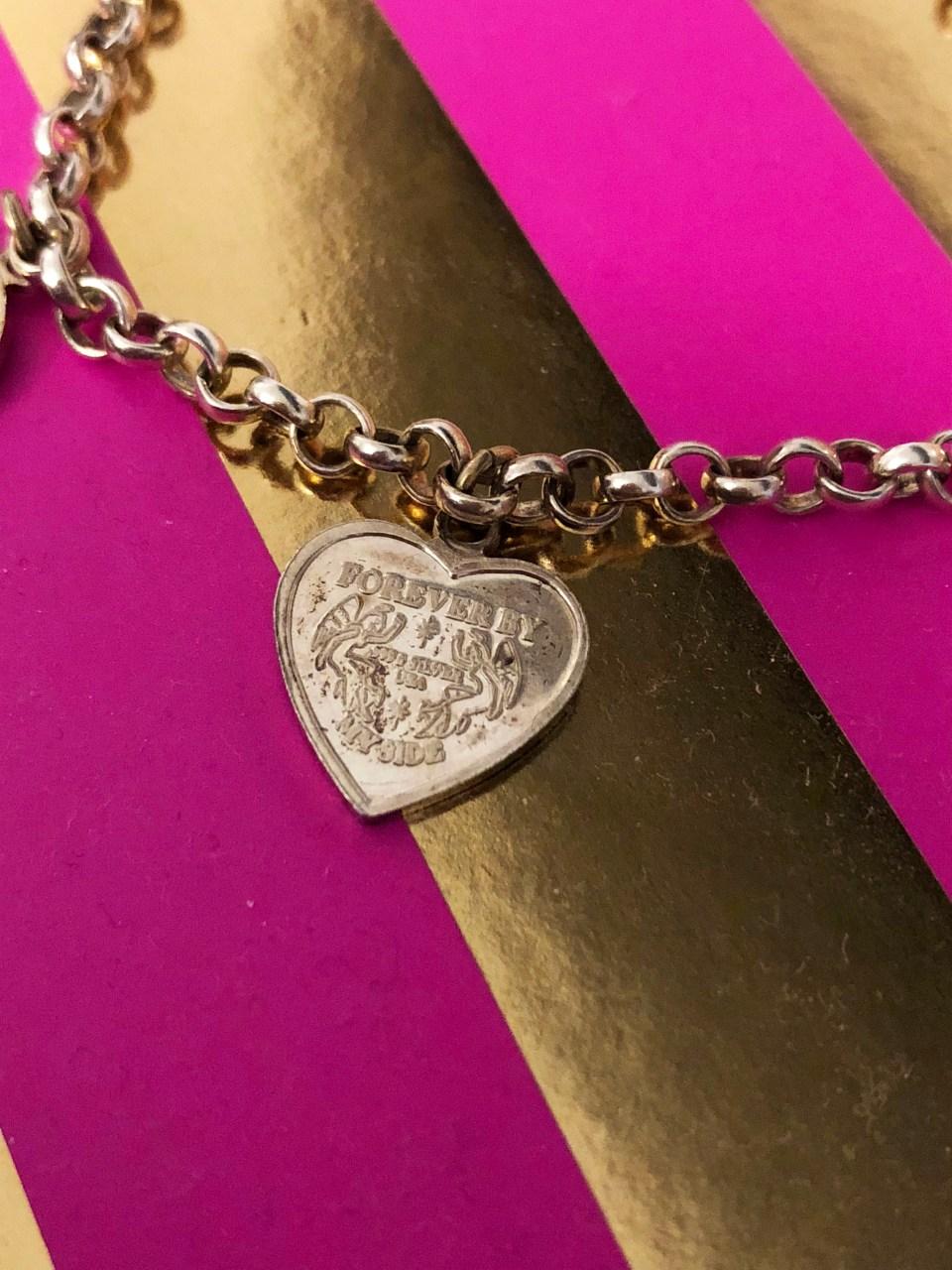 Angel Coin Charm Bracelet 1