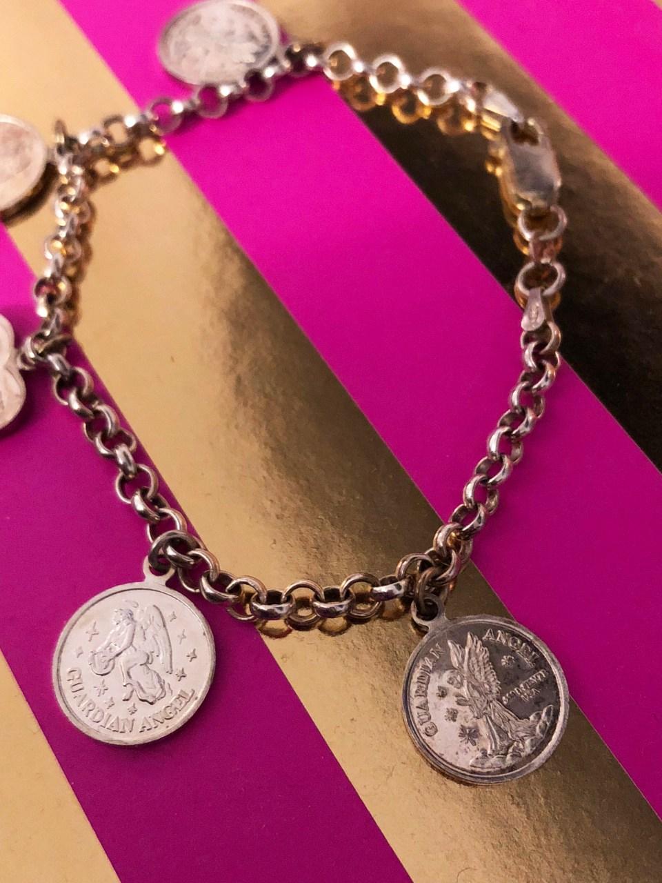 Angel Coin Charm Bracelet 3