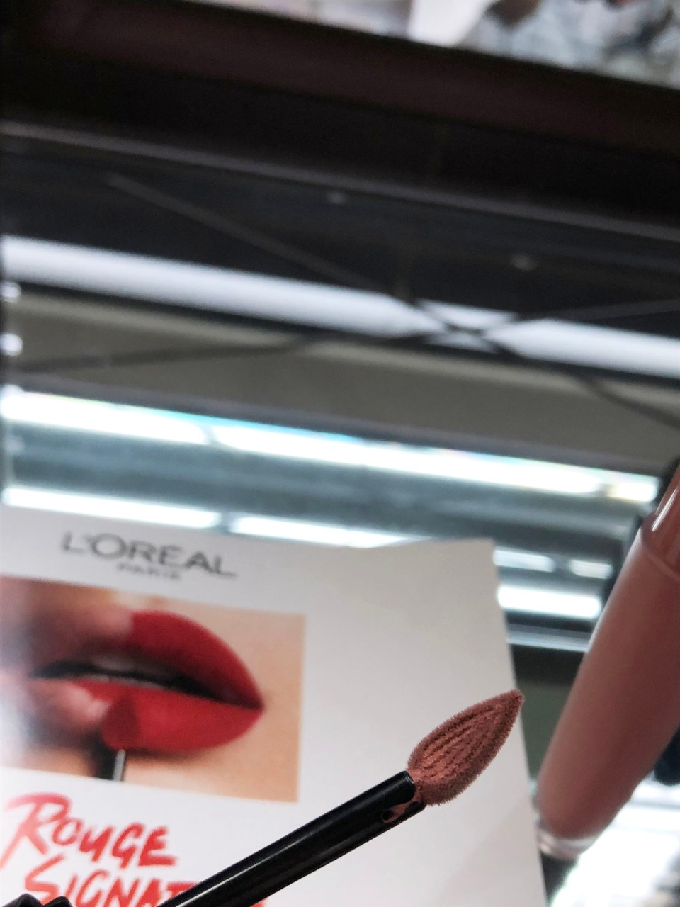 L'Oreal Rouge Signature Matte Colored Ink - I Create