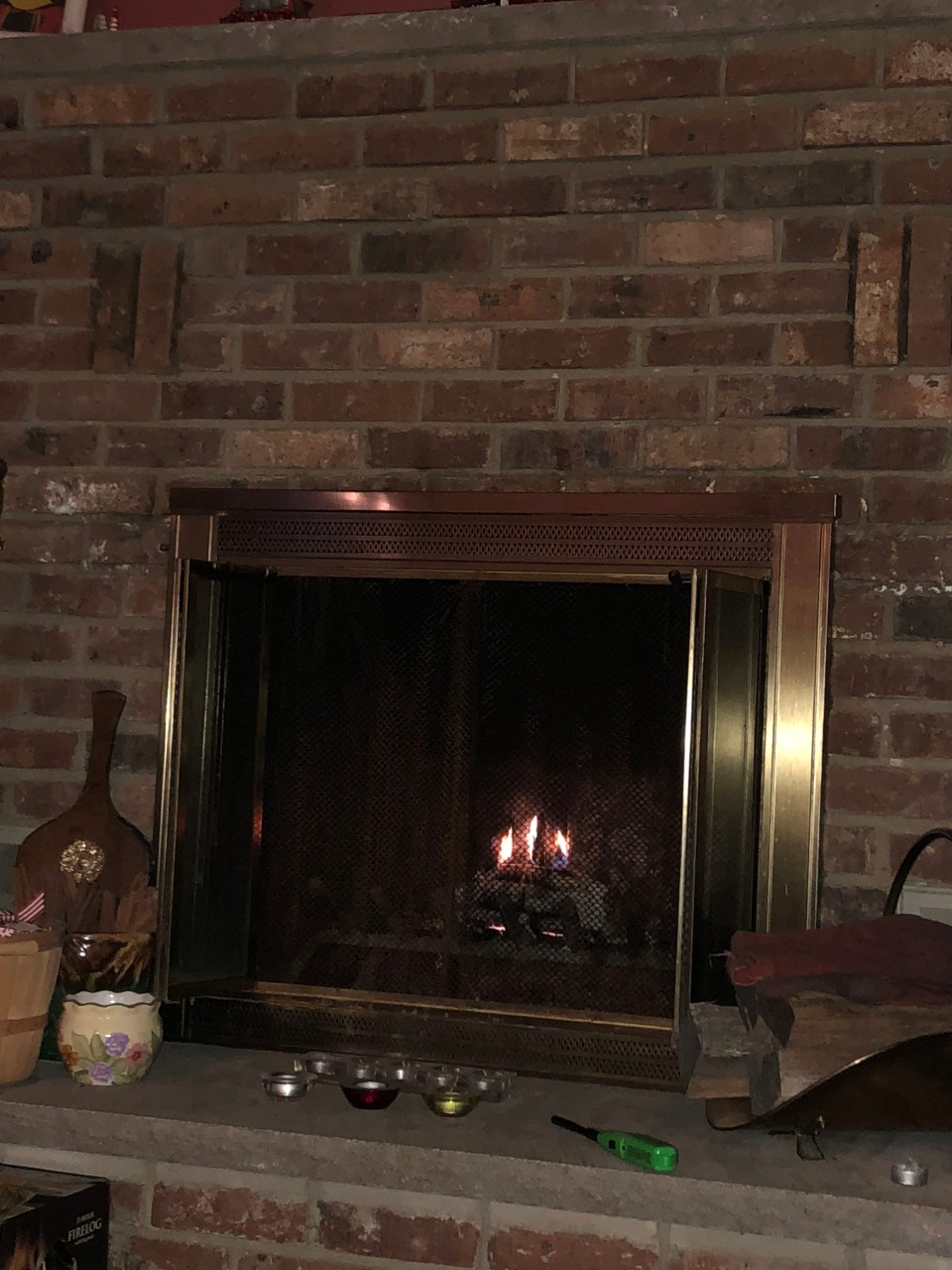 Pine Mountain - American Home by Yankee Candle Fire Log 12