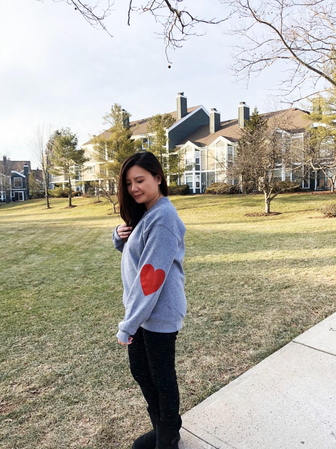 Elbow Heart Sweatshirt