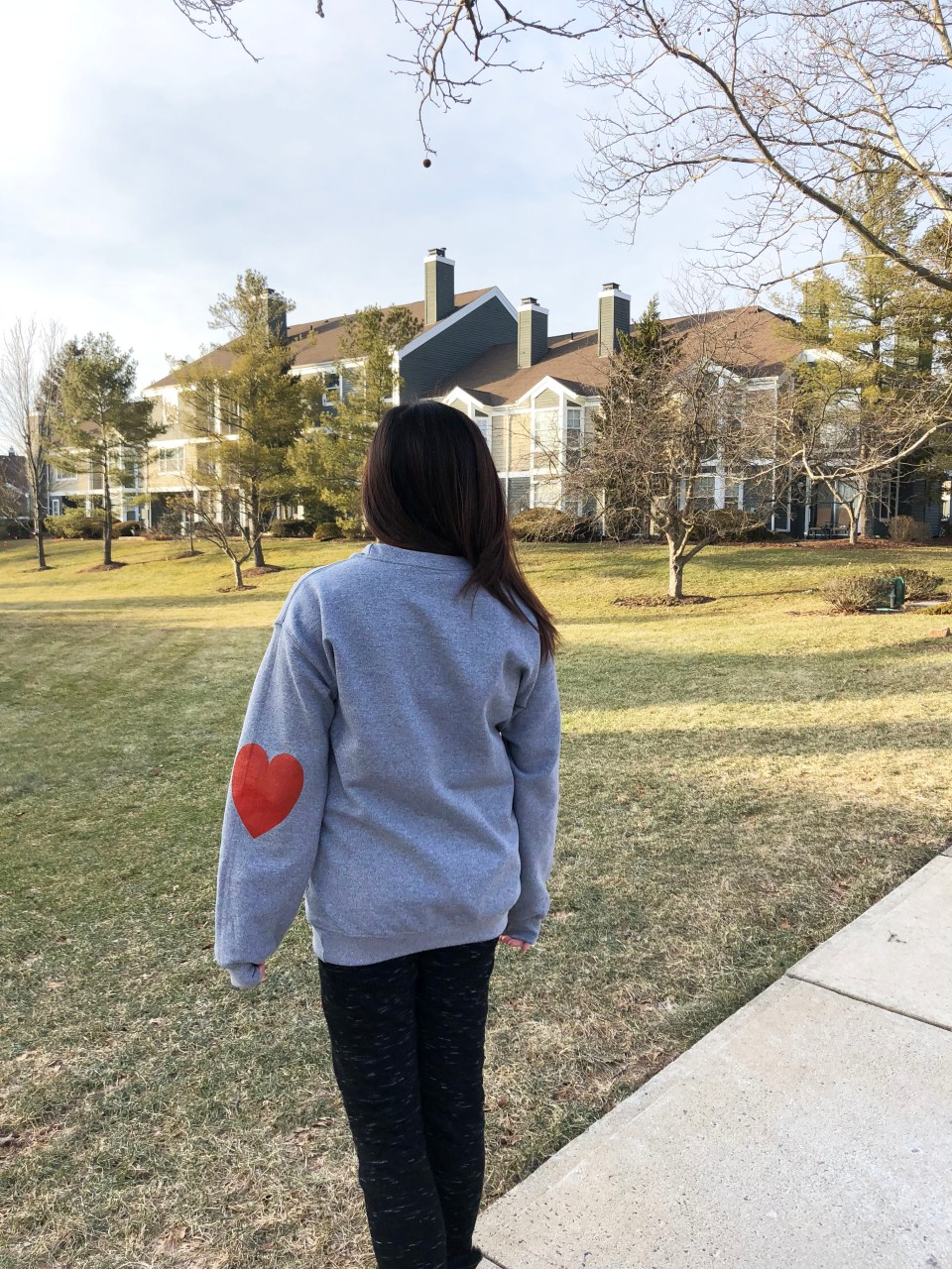 Elbow Heart Sweatshirt 5