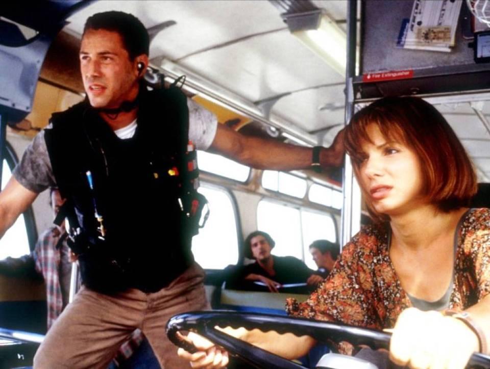 Speed - Sandra Bullock & Keanu Reeves