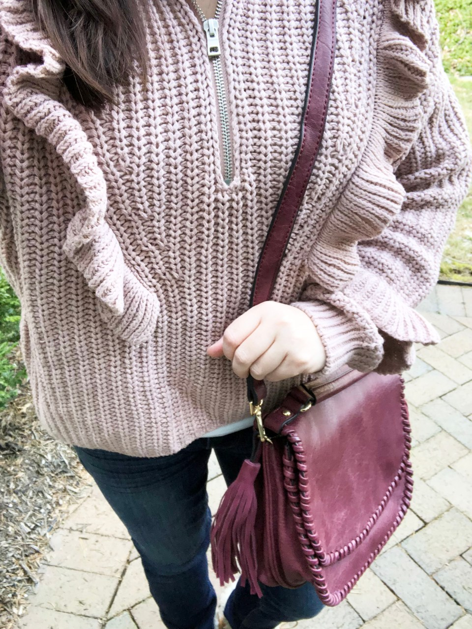 Whip Stitch Saddle Bag 10