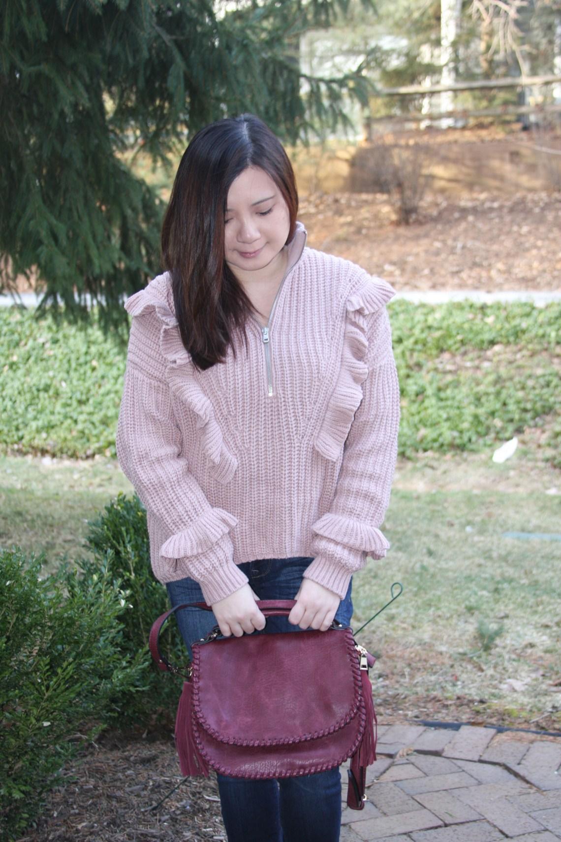 Whip Stitch Saddle Bag
