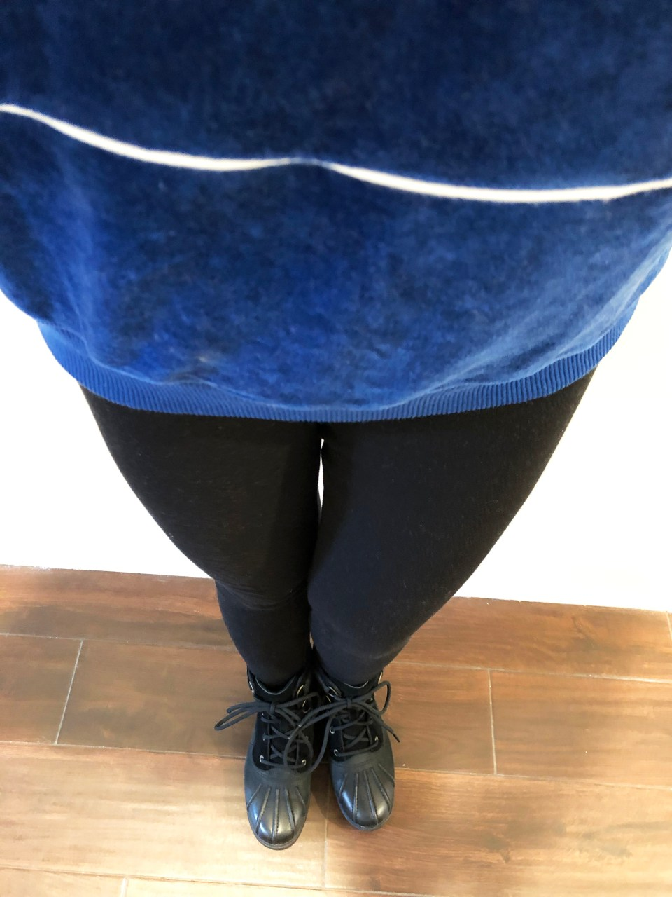 Blue Velour Sweatshirt 10