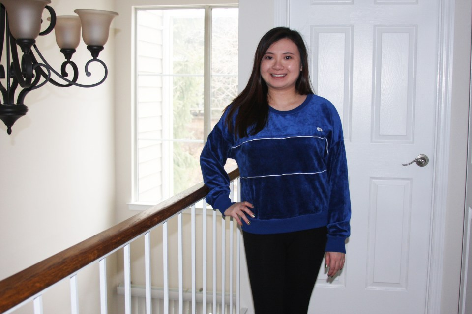 Blue Velour Sweatshirt 7