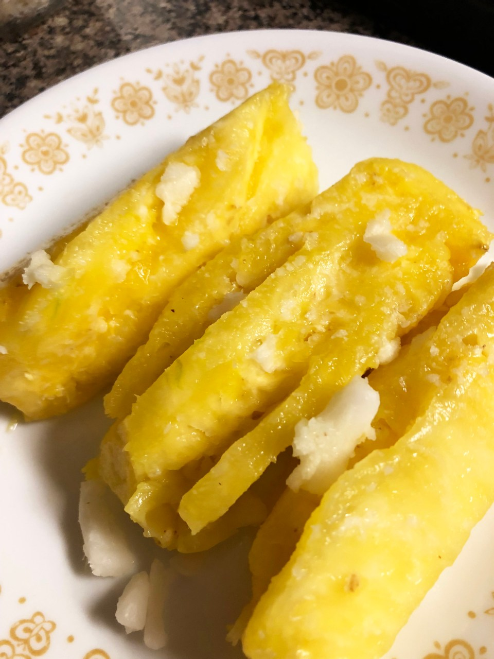 Pineapple + Coconut Oil