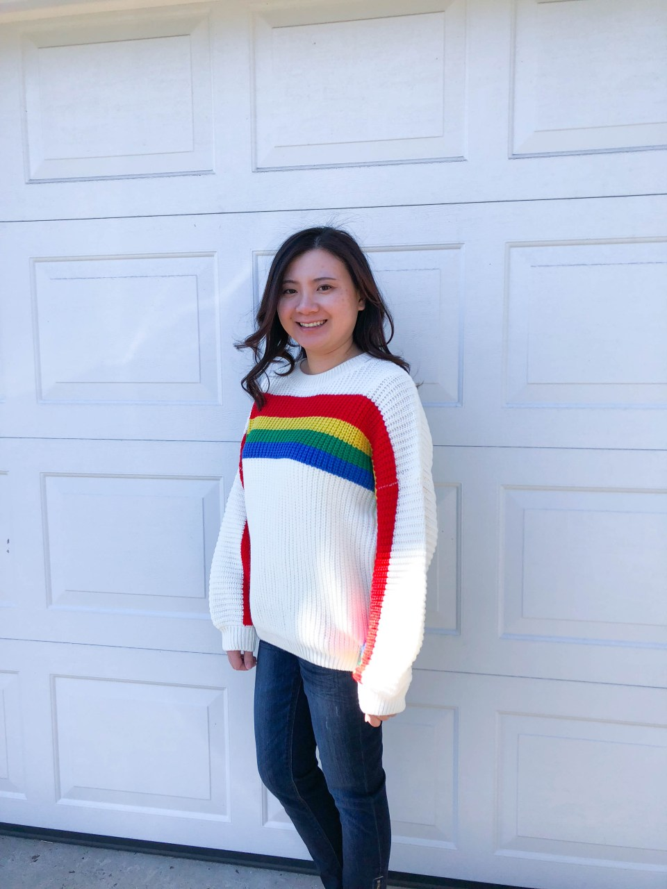 Rainbow Stripe Sweater 2