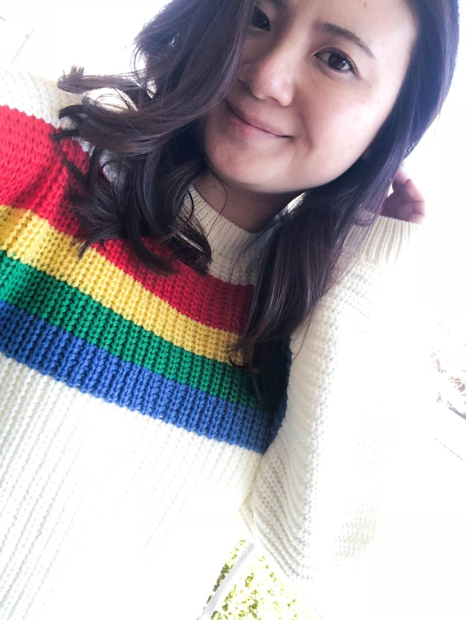 Rainbow Stripe Sweater 8