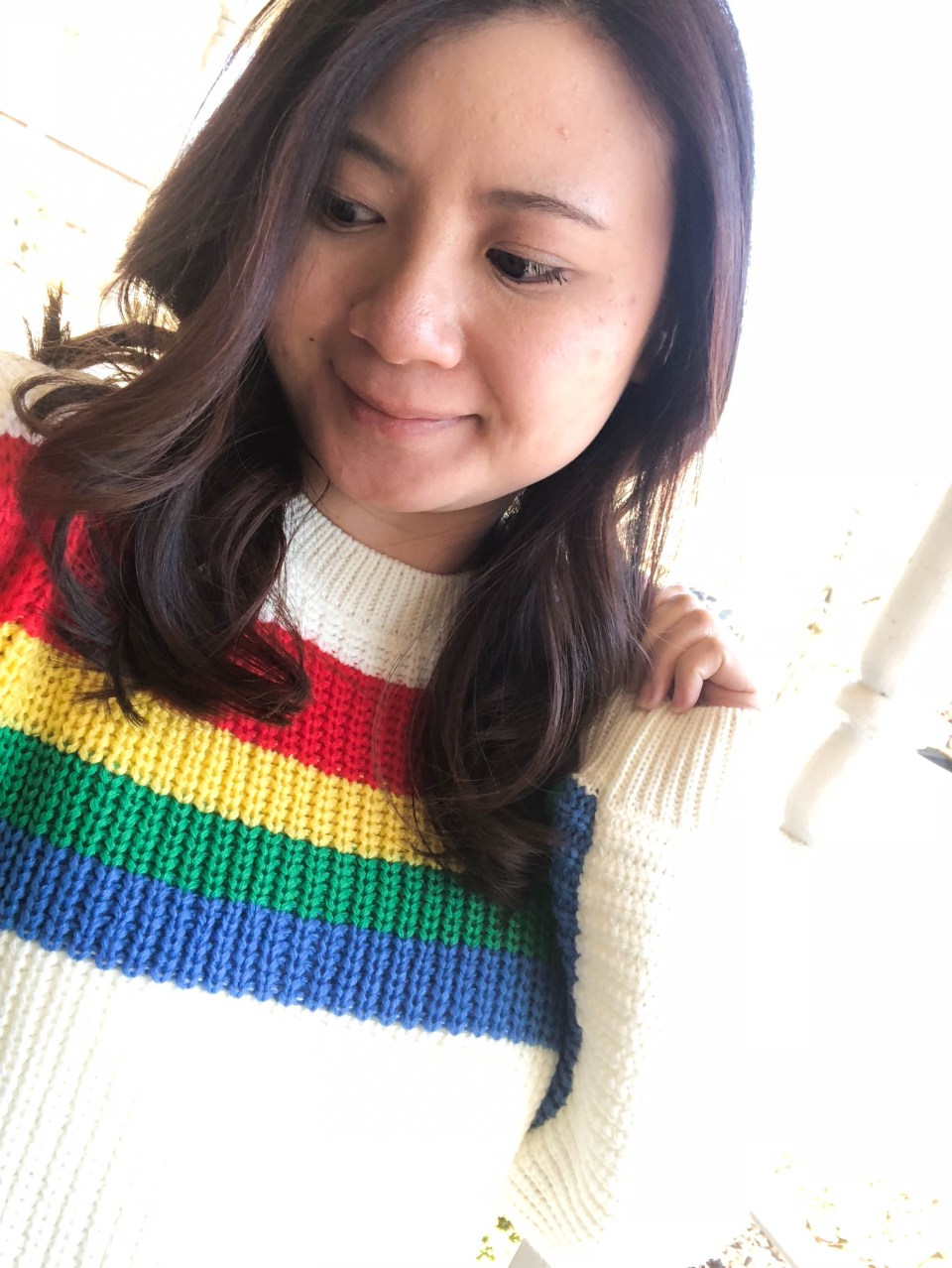 Rainbow Stripe Sweater 9