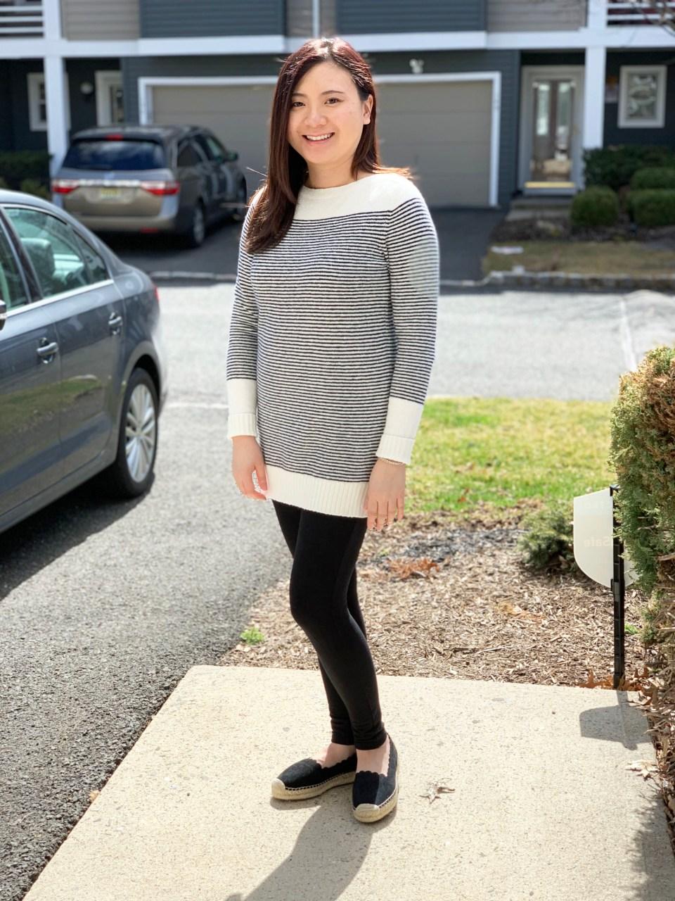 Skinny Stripe Sweater 1