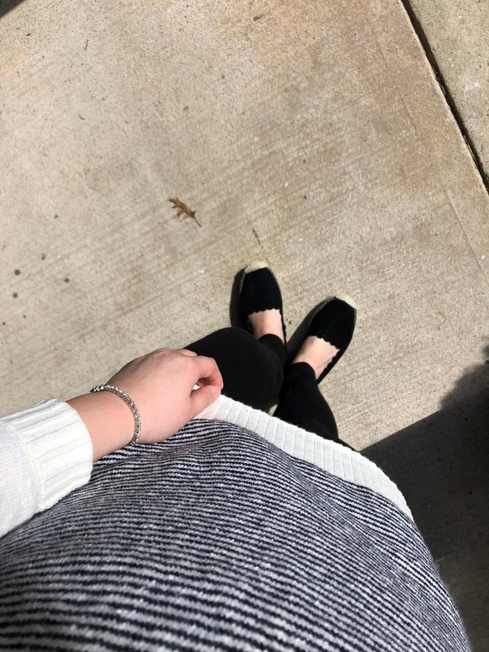 Skinny Stripe Sweater 11