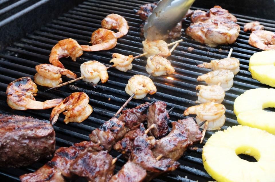 Steak & Shrimp Whiskey Teriyaki 4