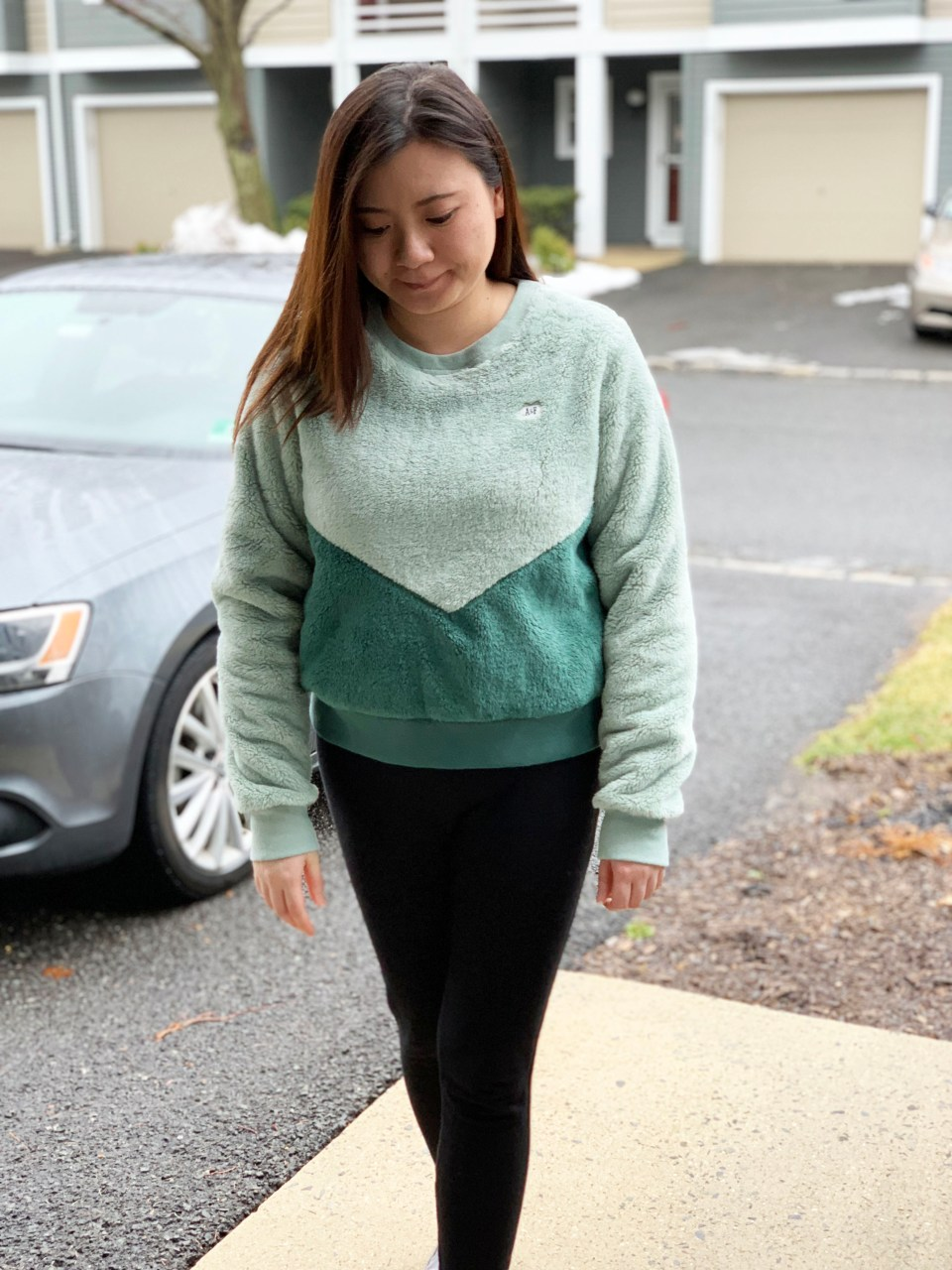 Two-Toned Green Sherpa 7