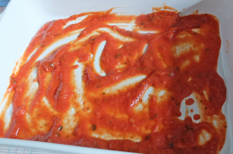 Cabbage Roll - baking dish