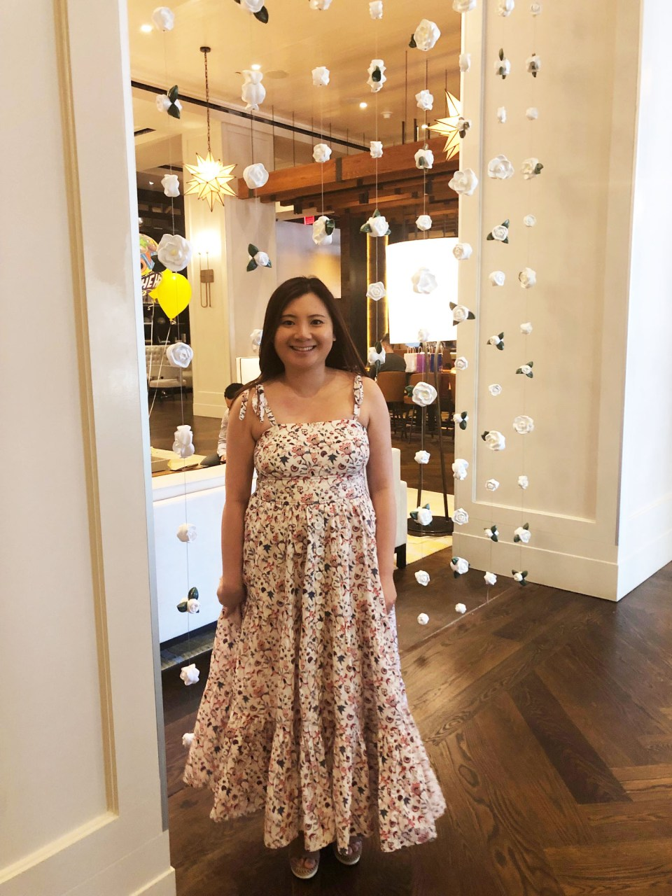 Floral Tiered Maxi Dress 6