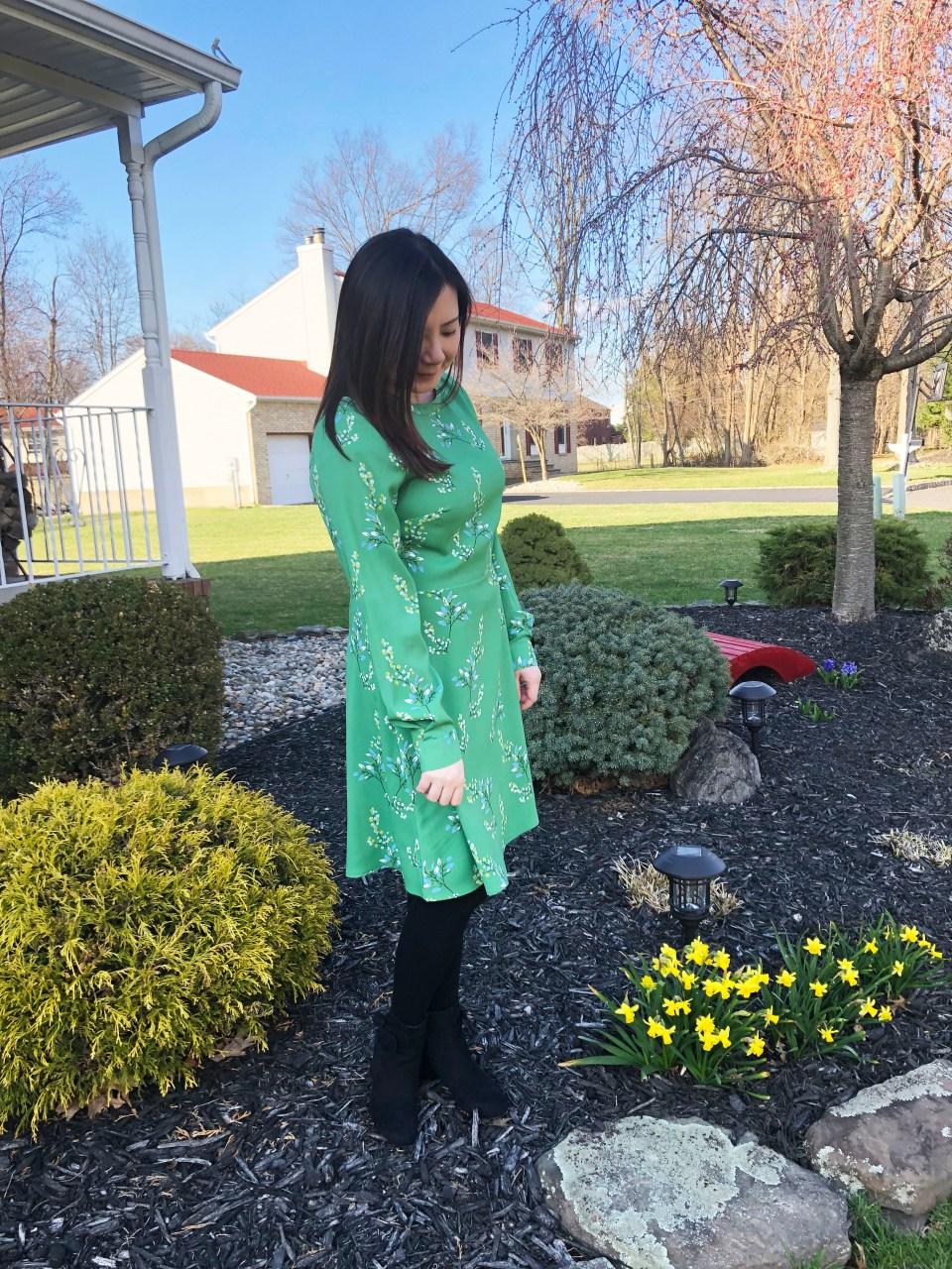 Flower Branch Dress 14