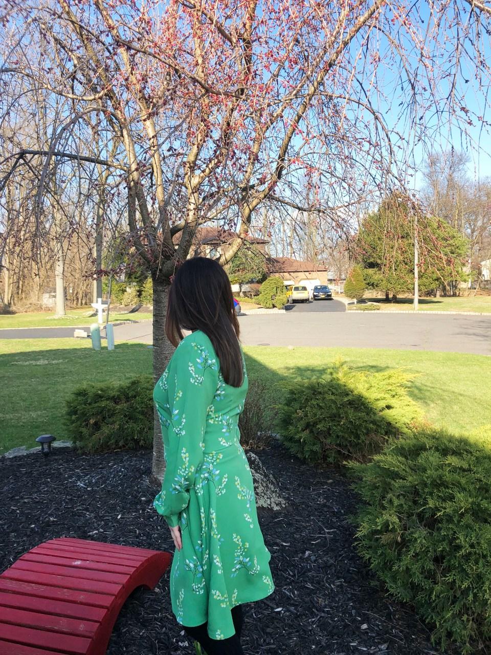 Flower Branch Dress 4