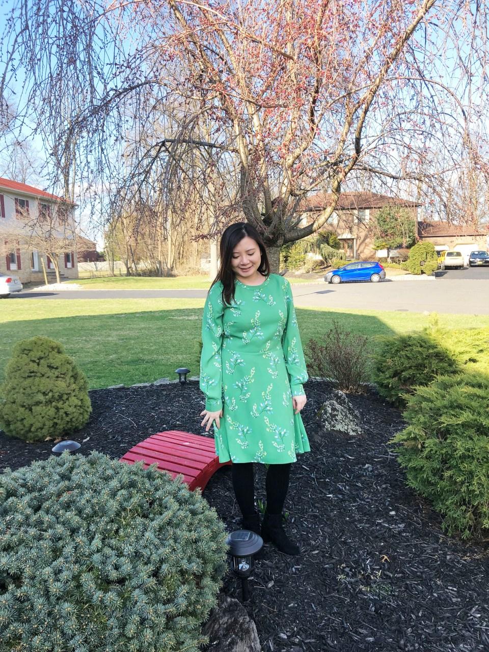 Flower Branch Dress