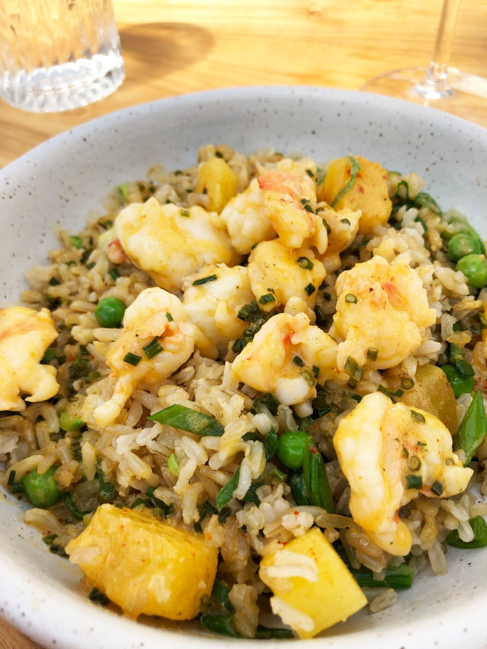 Lapeer - Chili-Garlic Shrimp & Brown Rice 1