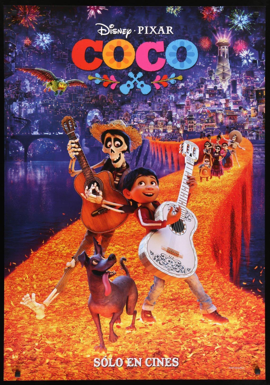 coco - movie poster