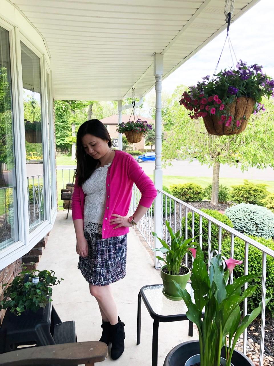 Faux Wrap Skirt 2
