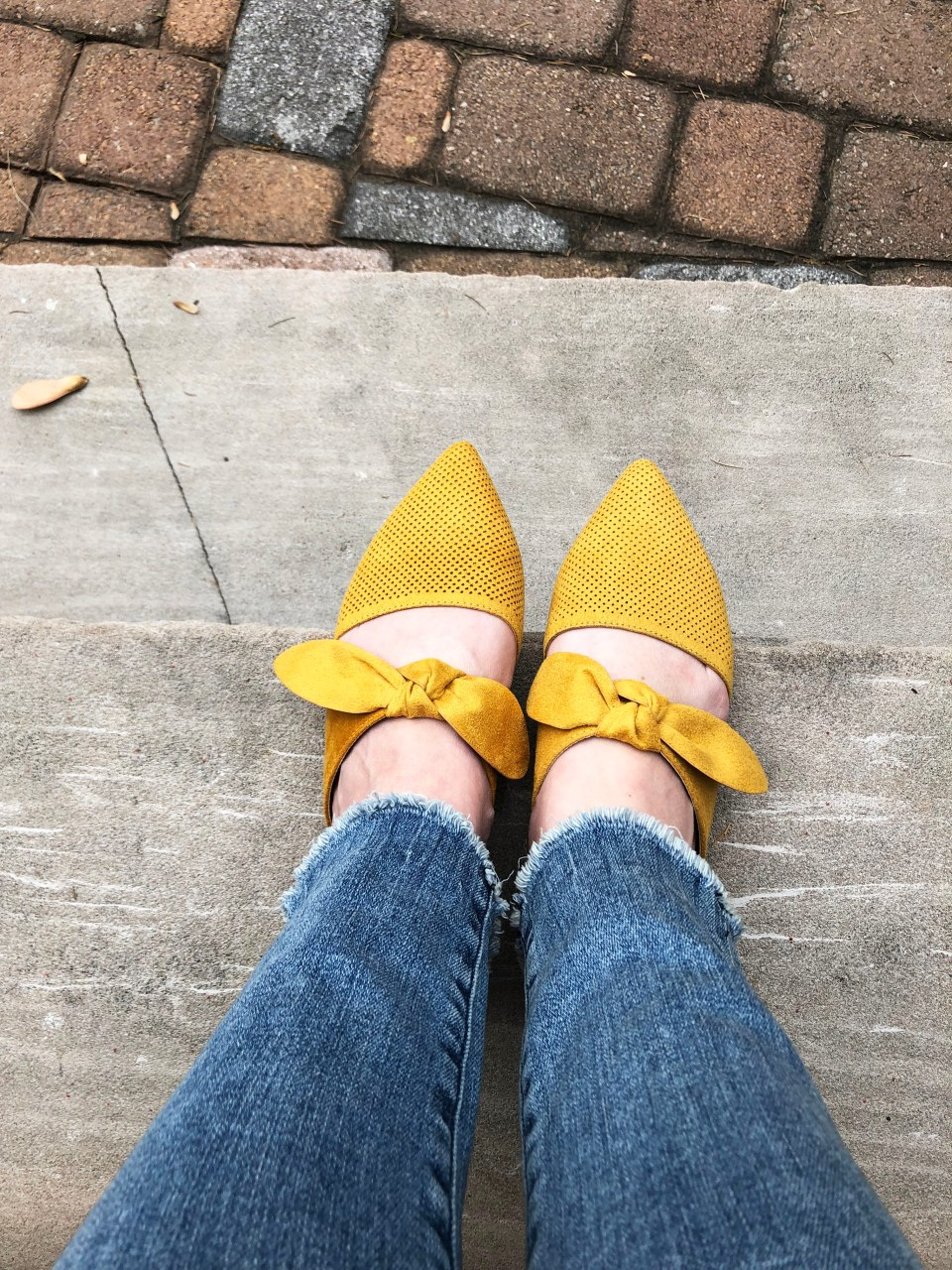 Mustard Yellow Mules 1