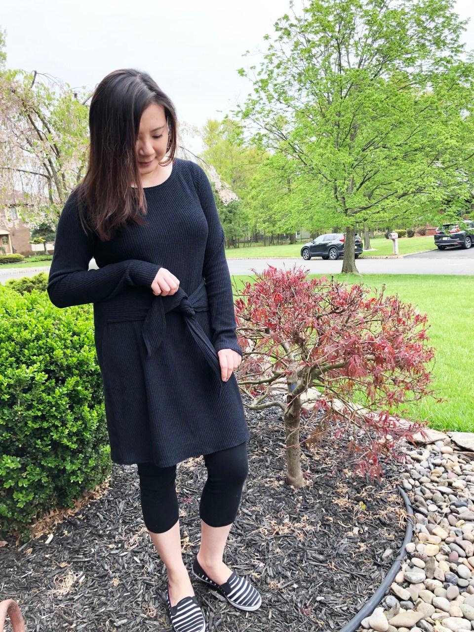 Tie Front Sweater Dress 3