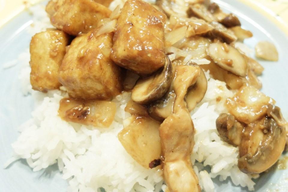 Spicy Peanut Tofu Stirfry 3