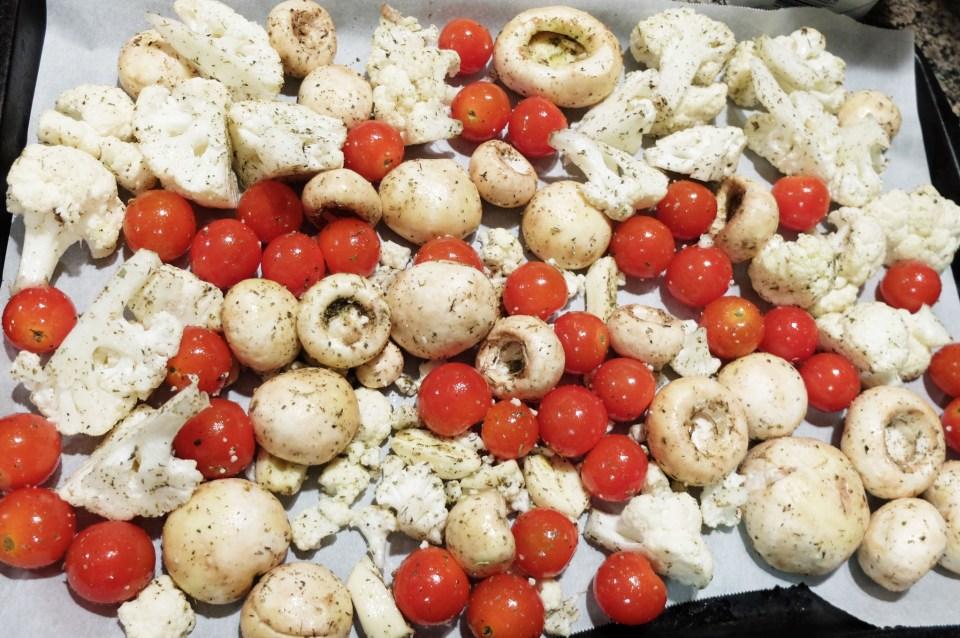 Italian Roasted Vegetables 2