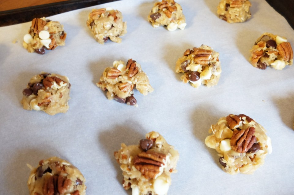 Pecan & Oat Chocolate Chip Cookies 10