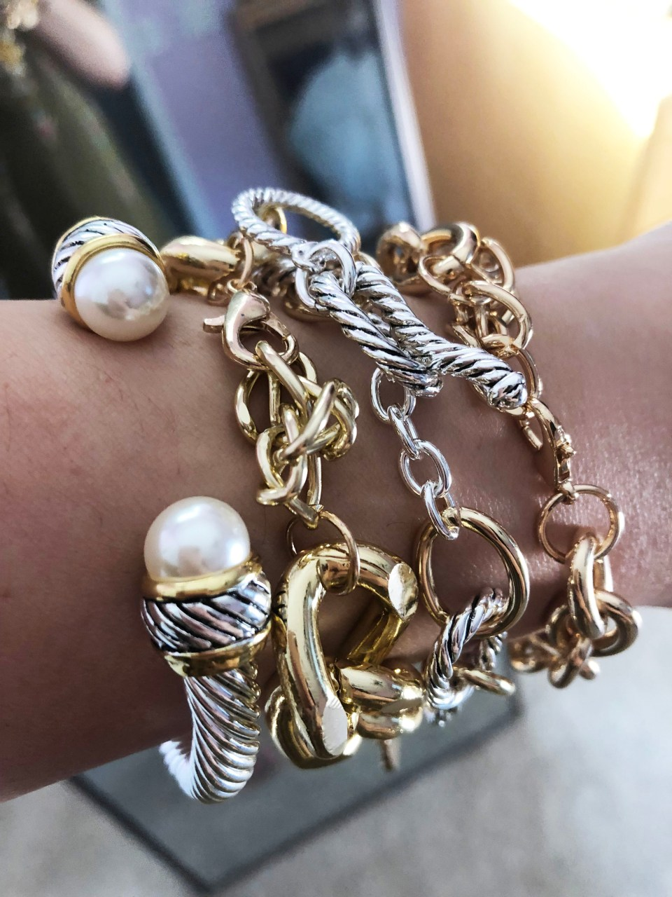 The Styled Collection Bracelet Stack 4