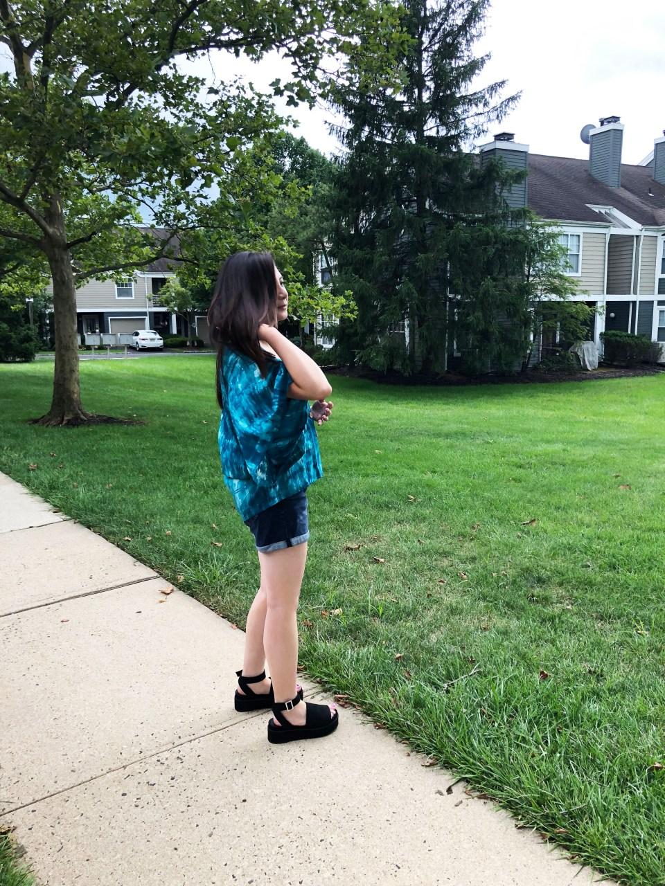 Tie Dye Kimono Top 5